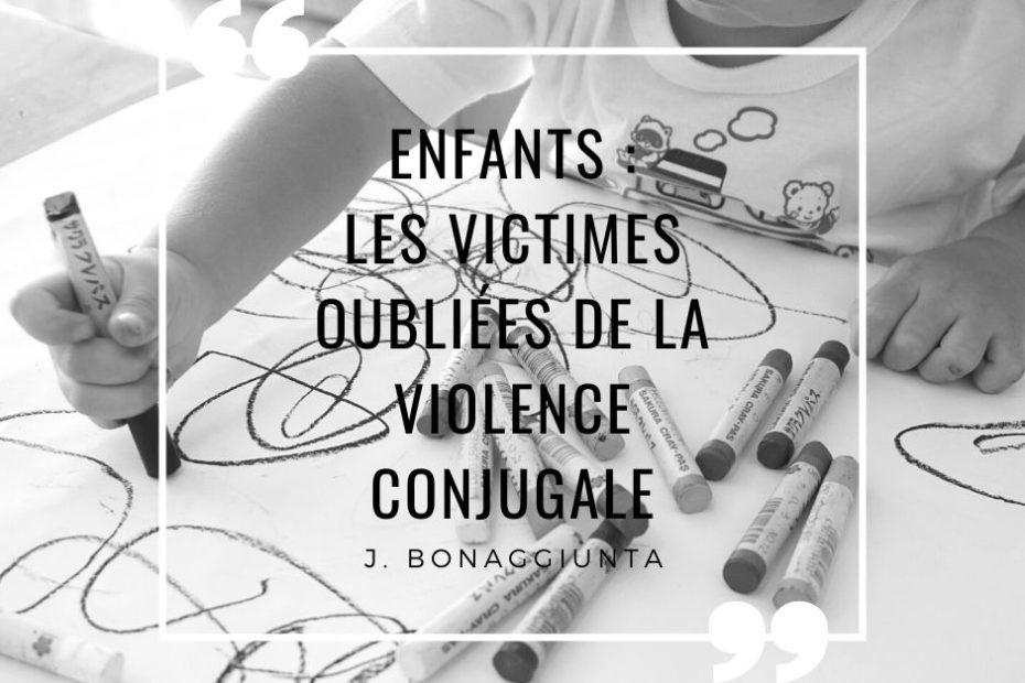 Enfants : les victimes oubliées de la violence conjugale